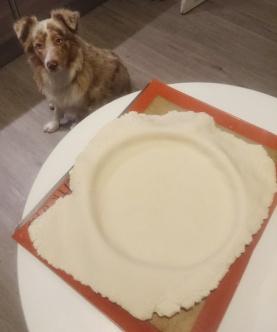 tarte amandine aux pommes 1