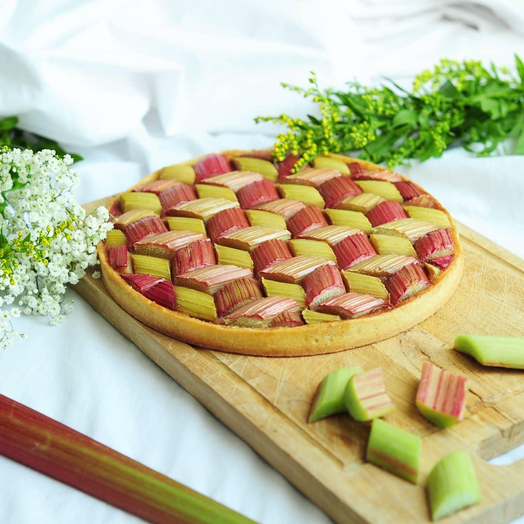 tarte rhubarbe 1
