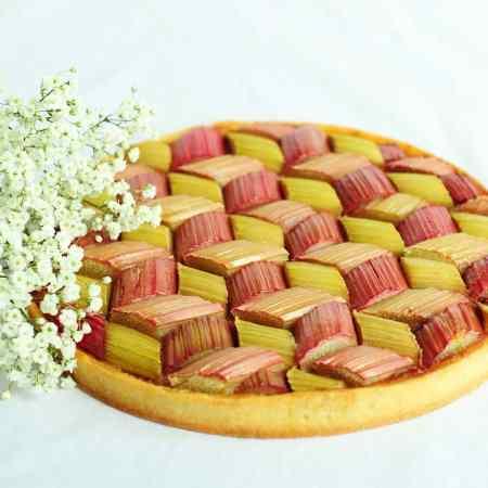 tarte rhubarbe 2