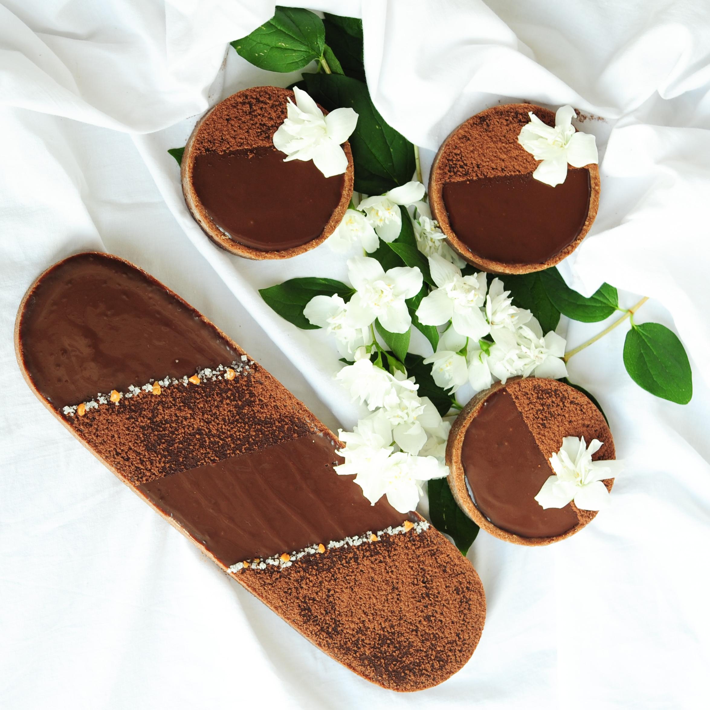 tarte chocolat caramel 2