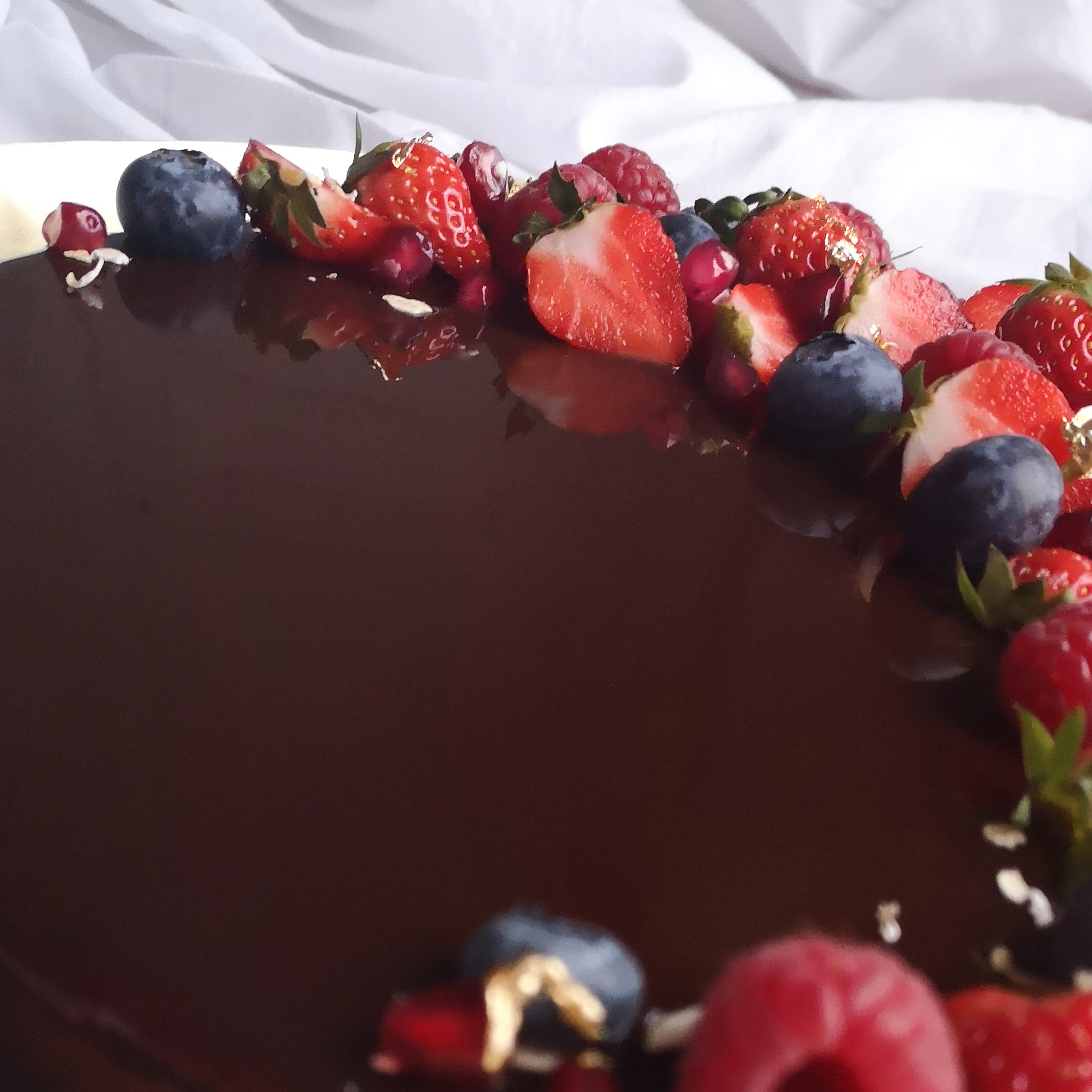 tarte chocolat fruits rouges 3